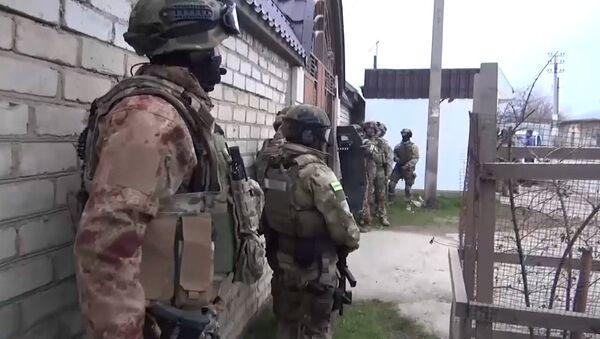 Спецоперация ФСБ в Махачкале