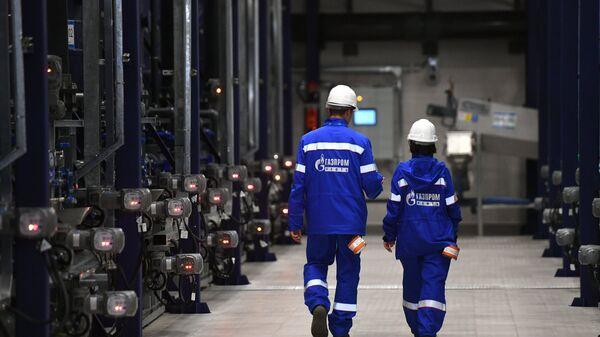 Сотрудники компании Газпром-Нефть