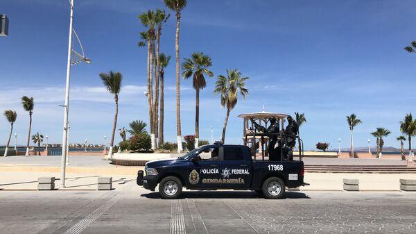 Автомобиль мексиканской полиции