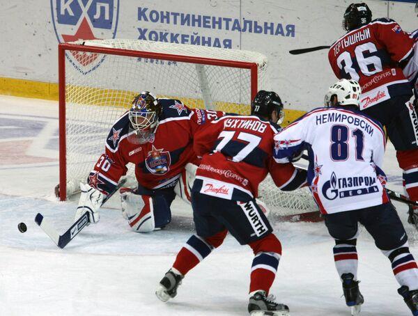 Хоккеисты ЦСКА (Москва)