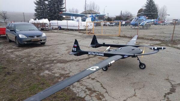Беспилотный гражданский стратосферный самолет сопровождения Сириус