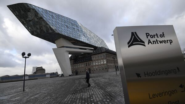 Портовый дом в Антверпене