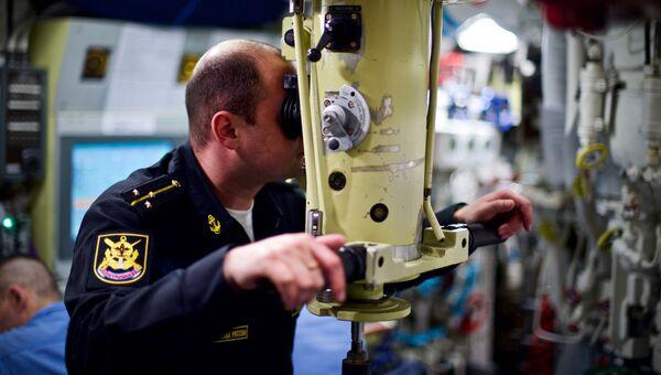 Центральный пост дизель-электрической подводной лодки проекта 636.3 Новороссийск
