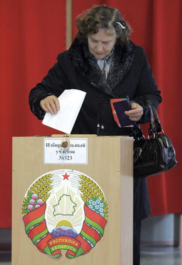 Выборы в нижнюю палату парламента Белоруссии. Архив