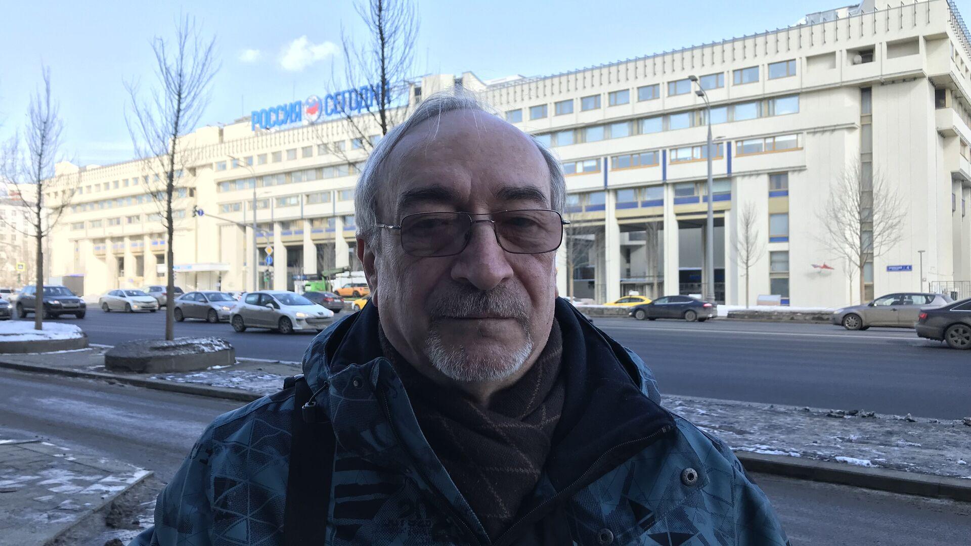 Доктор химических наук, профессор Леонид Ринк - РИА Новости, 1920, 25.09.2020