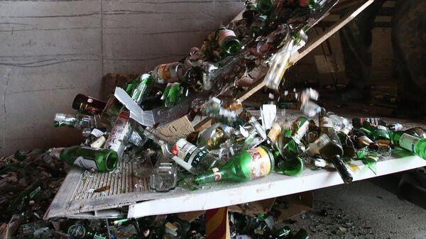 ОНФ: нужно увеличить количество переработки товаров из стекла