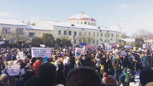 Митинг против свалки в Ядрово