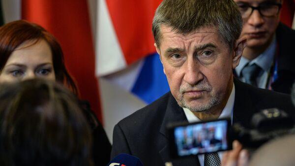 Премьер-министр Чехии Андрей Бабиш. Архивное фото