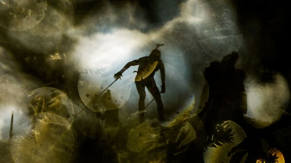 Йоханнес Бё (Норвелия) на дистанции эстафеты среди мужчин на чемпионате мира по биатлону в австрийском Хохфильцене. Специальный фотокорреспондент МИА Россия сегодня Алексей Филиппов занял второе место в категории Спортивные истории (Story Sports) на международном фотоконкурсе Istanbul Photo Awards