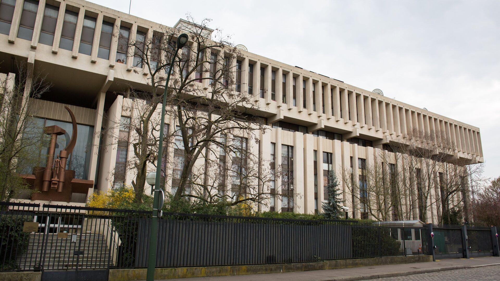 Здание посольства Российской Федерации на бульваре Ланн в Париже - РИА Новости, 1920, 15.09.2021