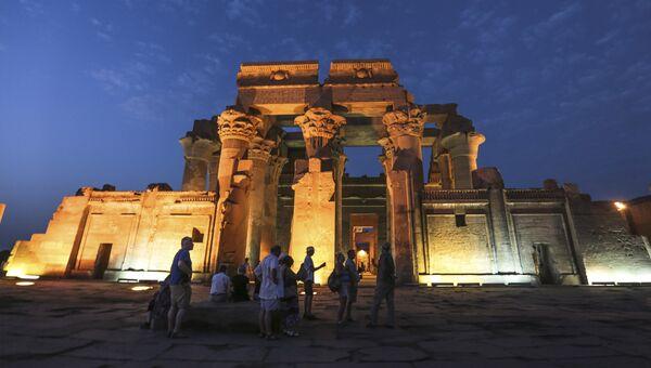 Храм в Ком-Омбо в Верхнем Египте