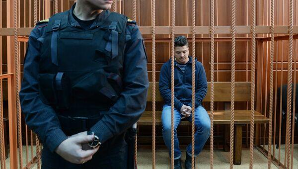 Технический директор торгового центра Зимняя вишня Георгий Соболев в заводском районном суде в Кемерово. 27 марта 2018