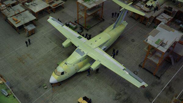 Ил-112В в Воронеже. Архивное фото