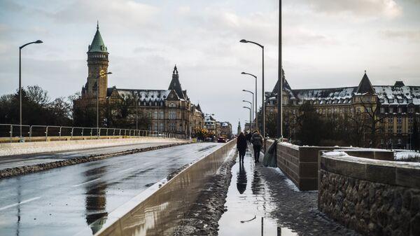 Вид города Люксембург