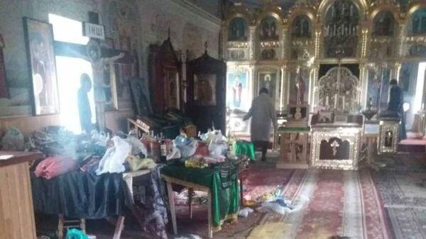 Неизвестные осквернили храм в селе Роксоланы Овидиопольского района Одесской области