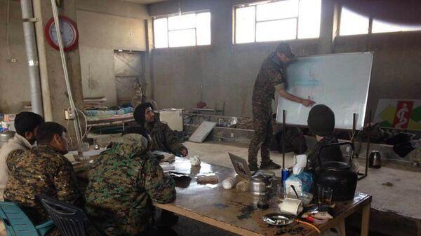 Сирийские курды, участники Отрядов народной самообороны
