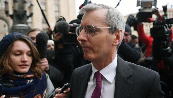 Посол Великобритании в России Лори Бристоу . Архивное фото