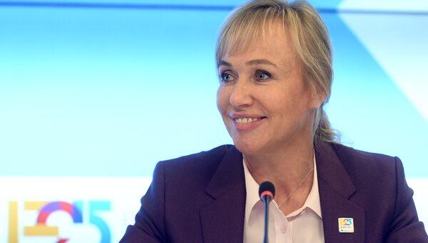Генеральный директор Заявочного комитета ЭКСПО–2025 Светлана Сагайдак