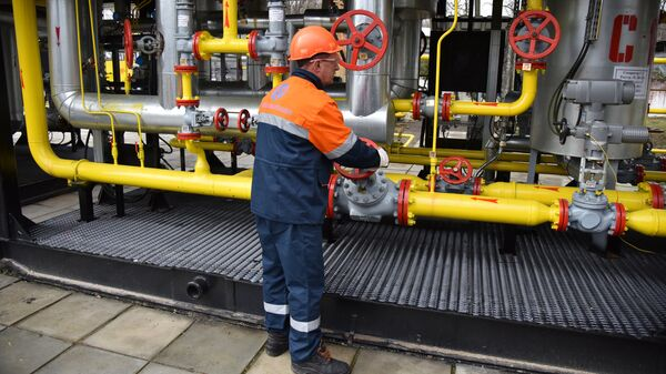 Газовое оборудование на Украине. Архивное фото