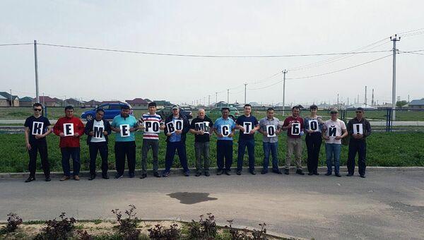 Сотрудники одного из таксопарков казахстанского Шымкента посадили 64 саженца в память о погибших в пожаре в Кемерово. 1 апреля 2018