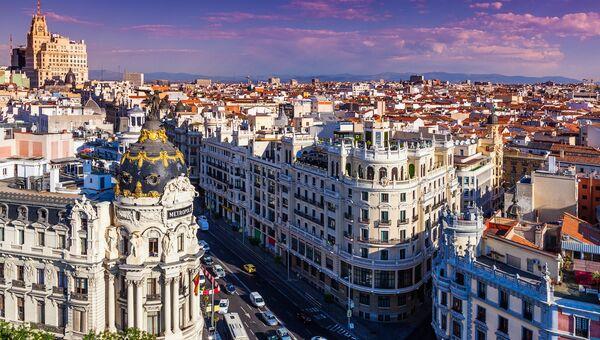 Мадрид, Испания. Архивное фото