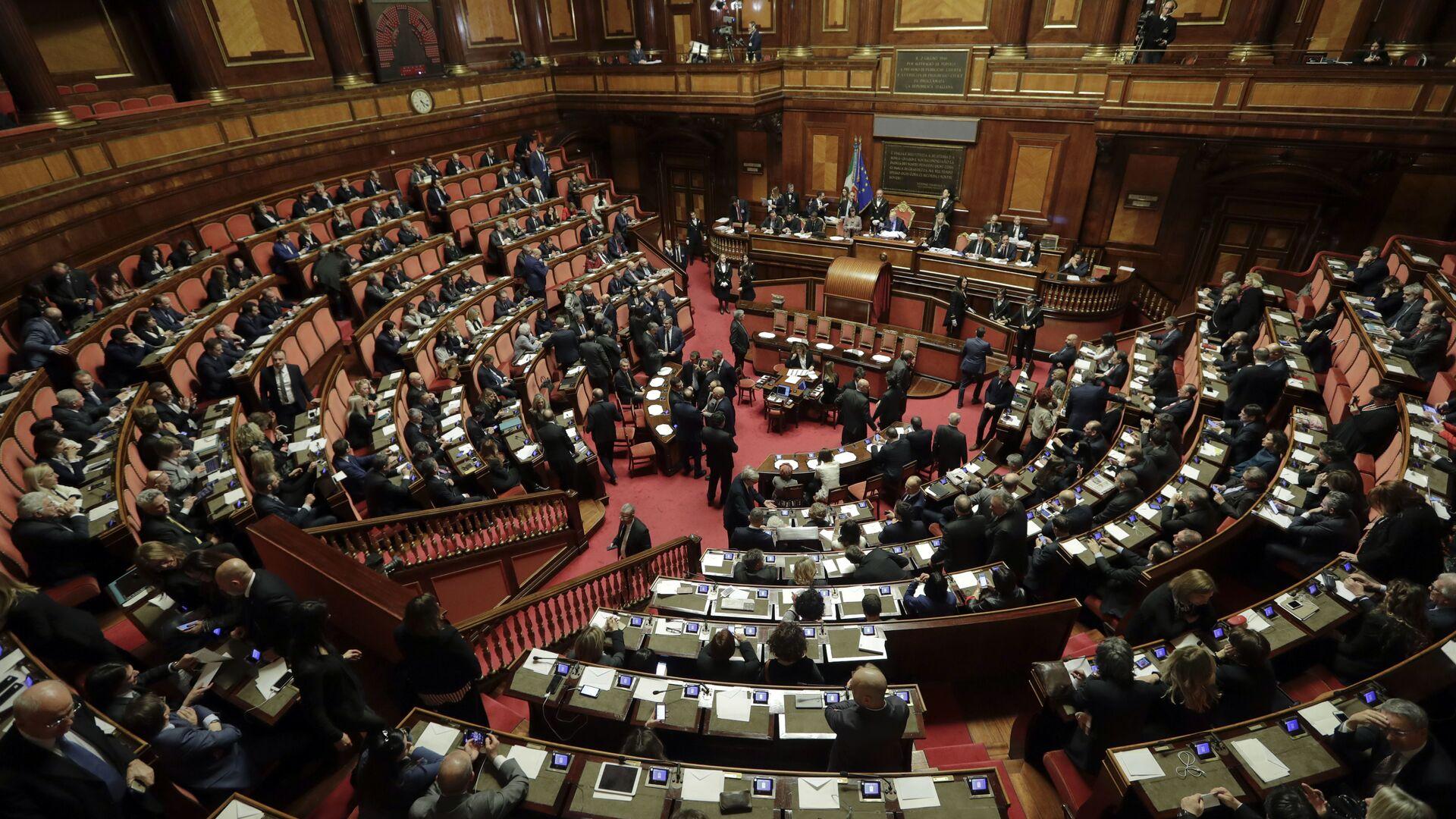 Парламент Италии - РИА Новости, 1920, 13.01.2021