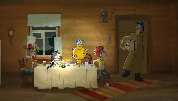 Кадр из мультфильма Возвращение в Простоквашино