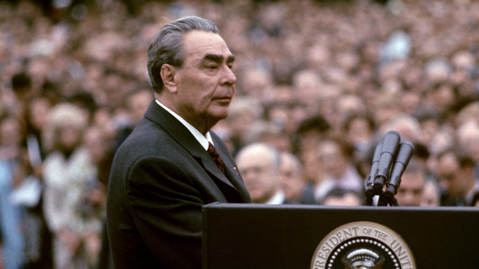 18 июня 1973 года по приглашению Президента США Р. Никсона с официальным визитом в Вашингтон прибыл генеральный секретарь ЦК КПСС, член Президиума Верховного Совета СССР Л.И. Брежнев - РИА Новости, 1920, 18.09.2020