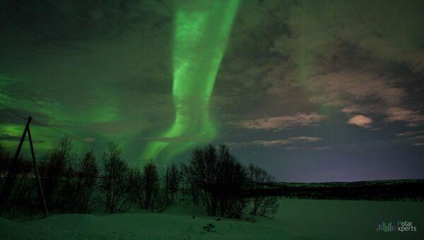 Охота на северное сияние в Заполярье