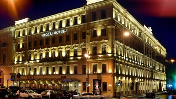 Отель Rossi Boutique Hotel and SPA в Санкт-Петербурге