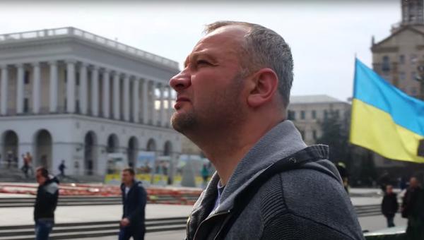 Иван Бубенчик. Кадр из документального фильма Пленники (Бранці)
