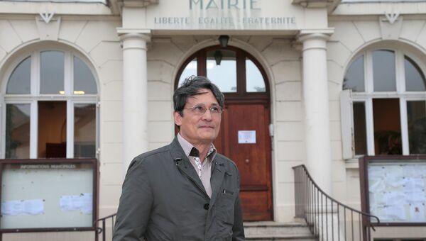 Мэр французского города Виссу Ришар Тренкье. Архивное фото