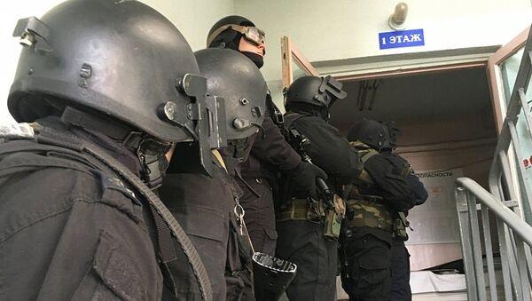 Сотрудники российских спецслужб. Архивное фото