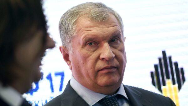 Главный исполнительный директор ПАО НК Роснефть Игорь Сечин. Архивное фото