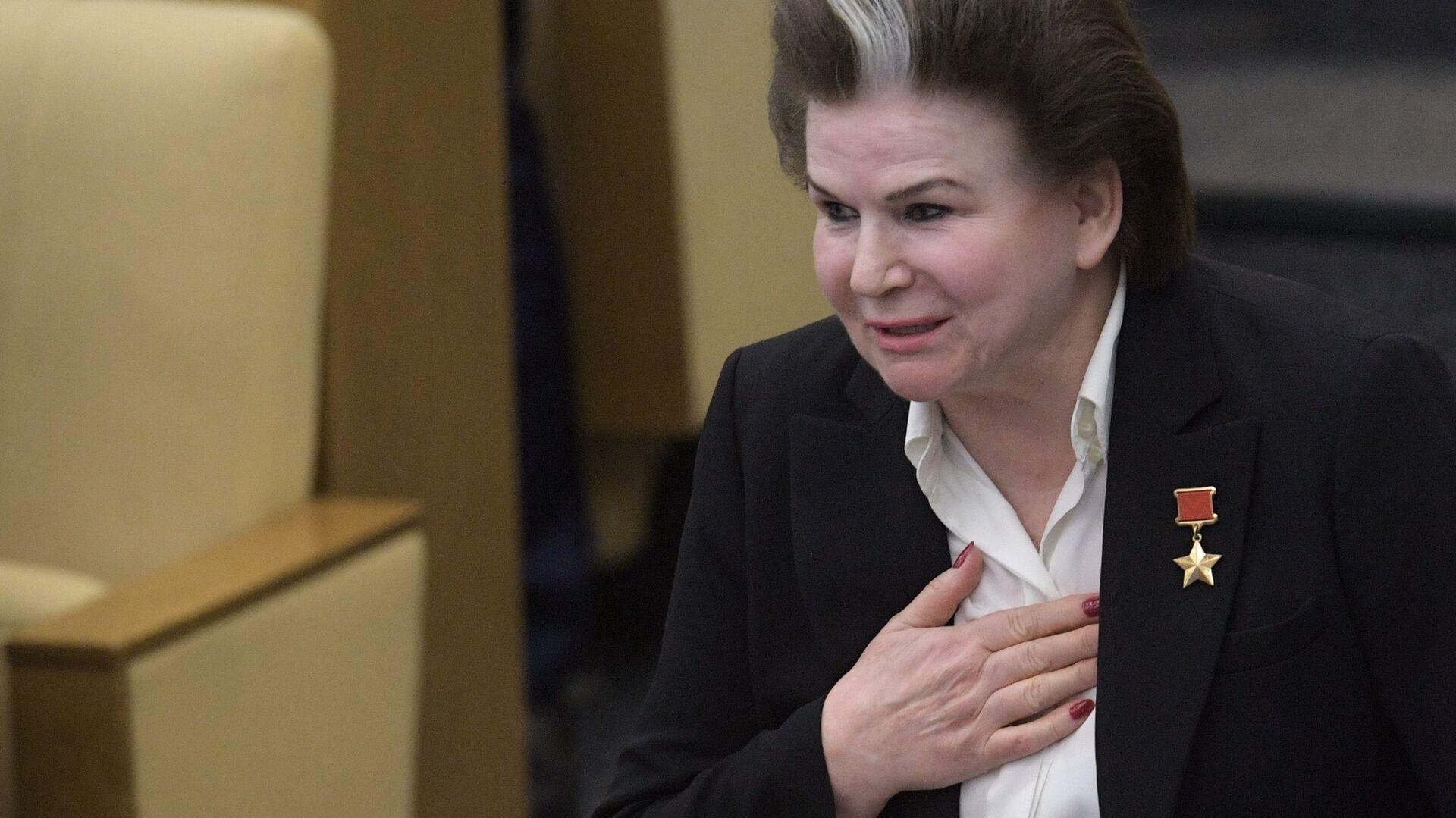 Валентина Терешкова - РИА Новости, 1920, 09.03.2021