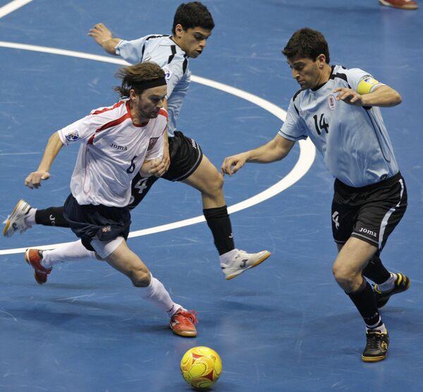 Матч ЧМ по мини-футболу Аргентина - Египет