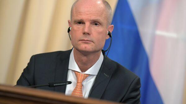 Министр иностранных дел Нидерландов Стеф Блок