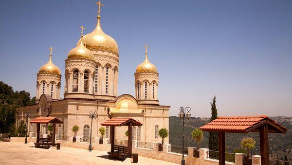 Русский православный монастырь в Эйн-Кареме в Иерусалиме. Архивное фото