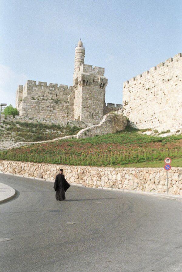 Вид города Иерусалима