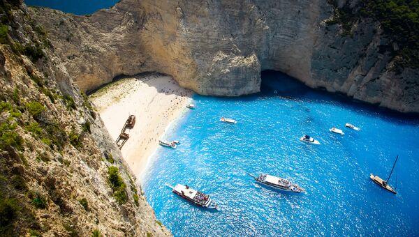 Пляж Навагио, Греция