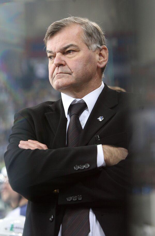 Главный тренер ХК Динамо (Москва) Владимир Вуйтек