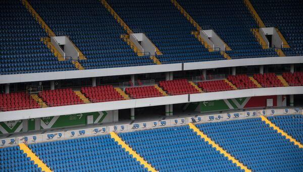 Трибуны на футбольном стадионе Ростов Арена