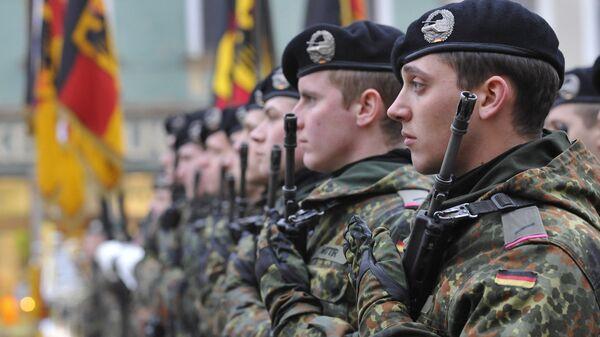 Солдаты армии Бундесвера