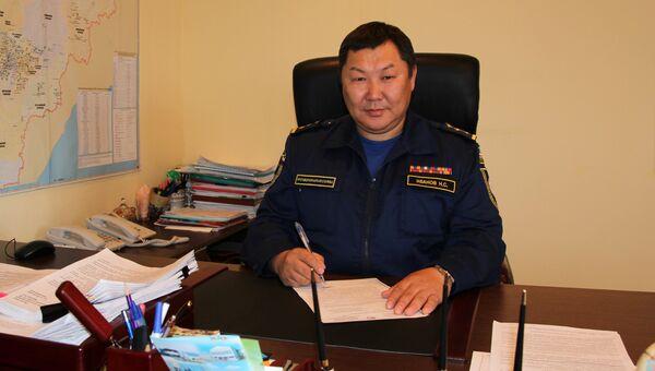 Начальник противопожарной службы Якутии Николай Иванов. Архивное фото
