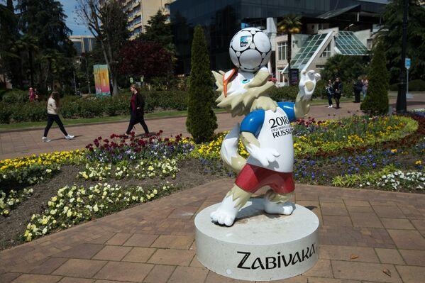 Скульптура Забиваки в Сочи