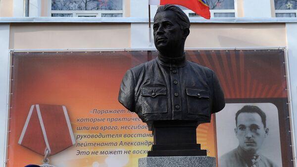 На церемонии открытия памятника Александру Печерскому в Ростове-на-Дону