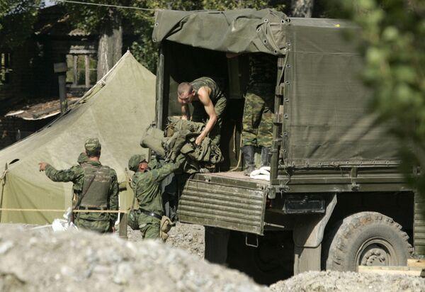 Вывод миротворческих постов из зоны безопасности, прилегающей к Южной Осетии