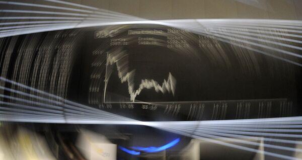 Показатели индекса DAX на Франкфуртской фондовой бирже
