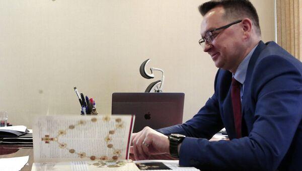 Генеральный директор ювелирного центра Русские ремесла Игорь Беляев