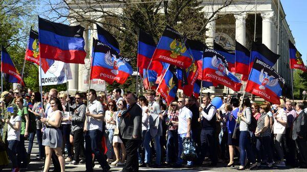 Первомайские демонстрации за рубежом